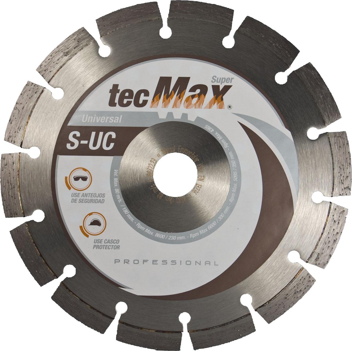 Disco Diamantado Tecmax S-UC