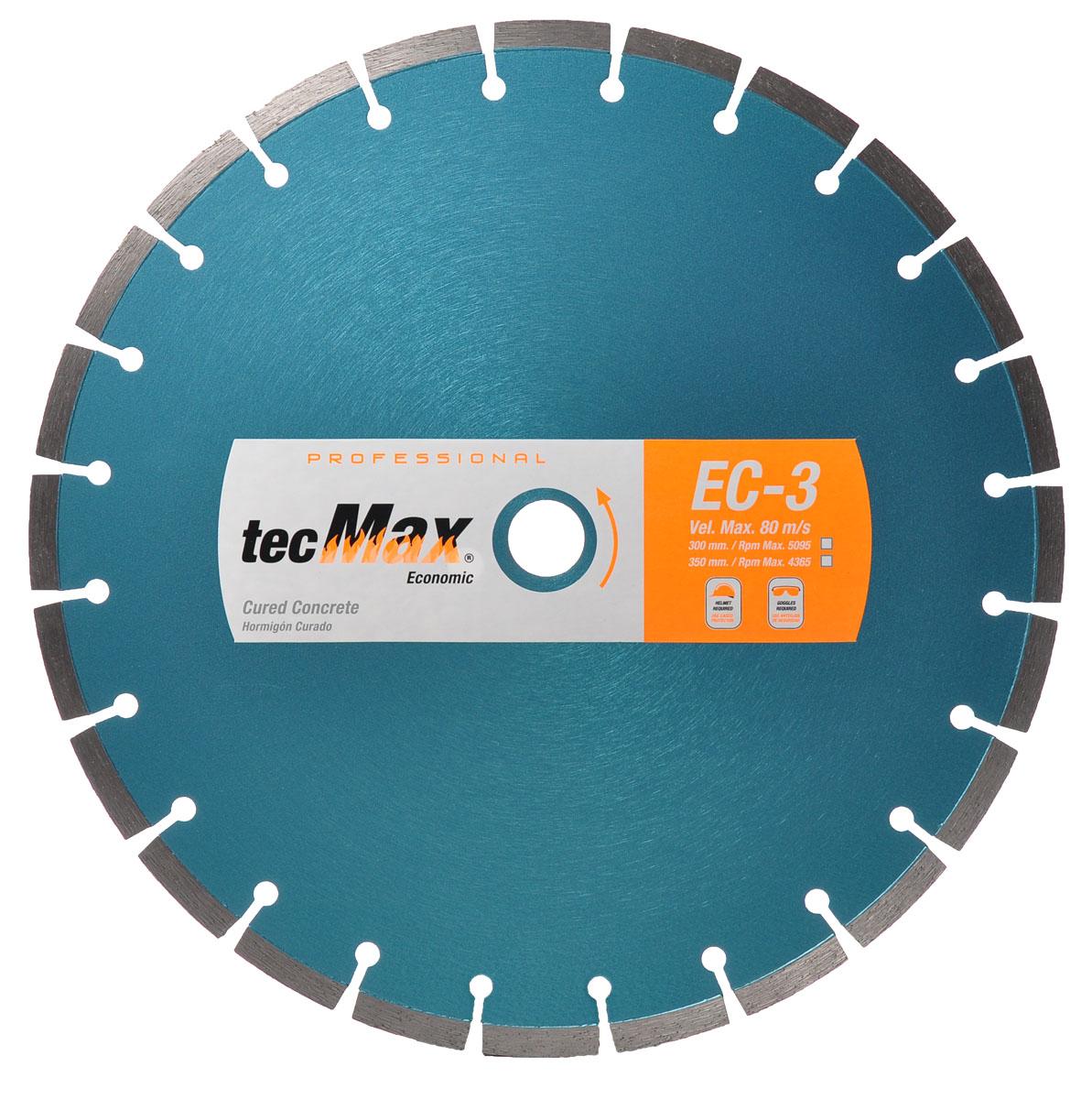 Disco Diamantado Tecmax EC-3