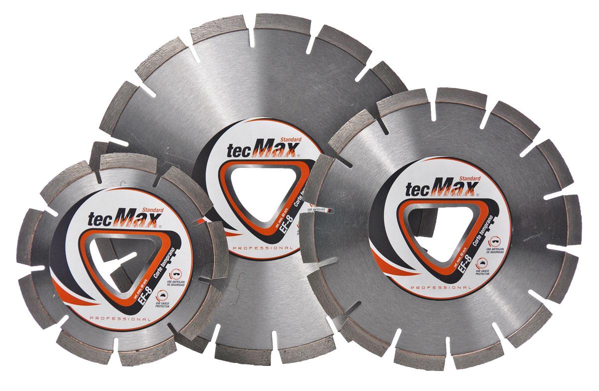 Disco Diamantado Tecmax EF-8